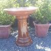 Picture of Pot Bird bath Glazed Bronze