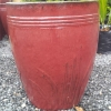 Picture of Pot Tall Reed Iron Red