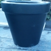 Picture of Pot Flower Pot Black Giant