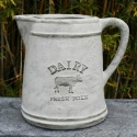 Picture of Pot Dairy Jug White Wash