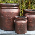 Picture of Pot Dairy Can Antique