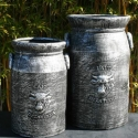 Picture of Pot Dairy Can Tall Pewter