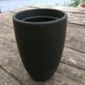 Picture of Cups Black Handleless