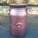Picture of Pot Dairy Can Tall Antique