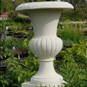 Picture of Pot Willingham LGE Urn and Plinth Limestone